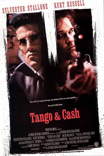 """Постер фильма """"Танго и Кэш"""""""