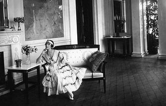 Матильда Кшесинская, 1916 год