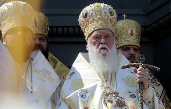 Глава Украинской православной церкви непризнанного Киевского патриархата Филарет