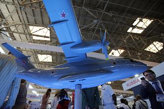 Макет самолета Ил-112В