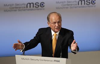 Руководитель Мюнхенской конференции по вопросам безопасности Вольфганг Ишингер