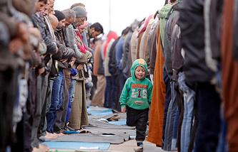 Беженцы из Восточной Гуты