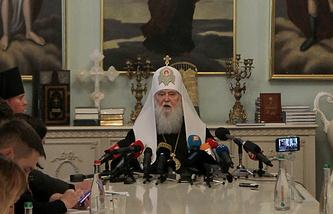 Глава Украинской православной церкви Киевского патриархата Филарет (Денисенко)