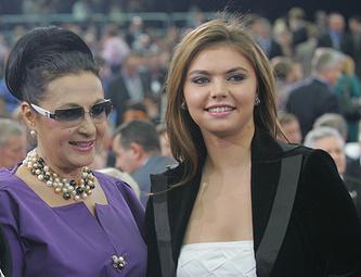 Ирина Винер-Усманова со своей ученицей олимпийской чемпионкой Алиной Кабаевой