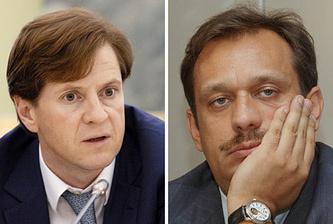Андрей Бородин (слева) и Дмитрий Акулинин (справа). Фото ИТАР-ТАСС