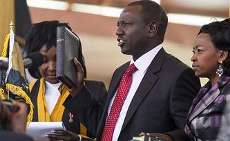 Президент Кении Ухуру Кениата. Фото EPA/DAI KUROKAWA