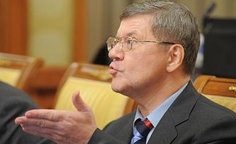 Генеральный прокурор России Юрий Чайка. Фото  ИТАР-ТАСС/Максим Шеметов