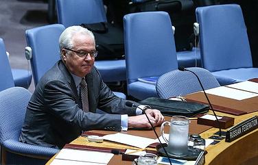 Постоянный представитель России при ООН Виталий Чуркин