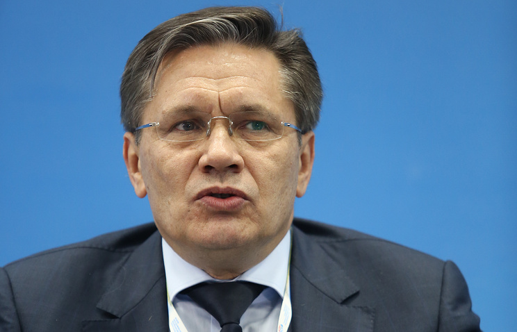 Russia's Deputy Economic Development Minister Alexei Likhachev