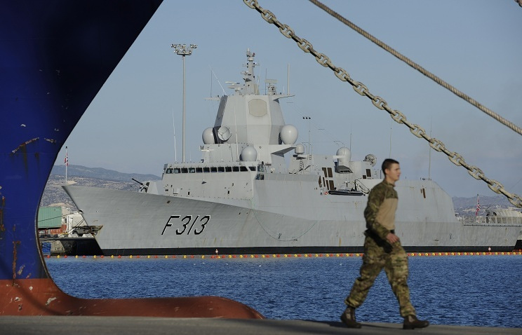 Norwegian escort frigate