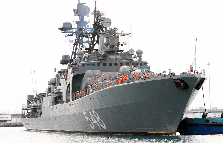 Russian destroyer Admiral Panteleyev