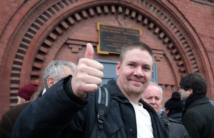 Greenpeace activist Anthony Perrett
