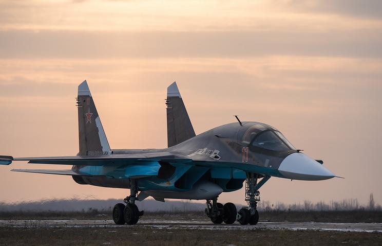 Su-34 fighter bomber