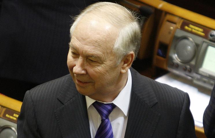 Speaker of Ukraine's parliament Vladimir Rybak
