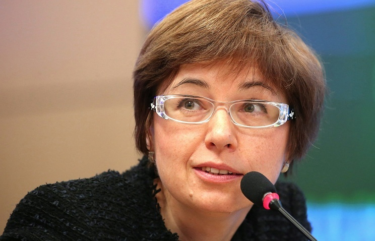Kseniya Yudayeva, a deputy head of Russia's Central Bank