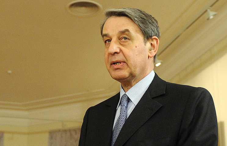 Russia's Ambassador to the Vatican Alexander Avdeyev