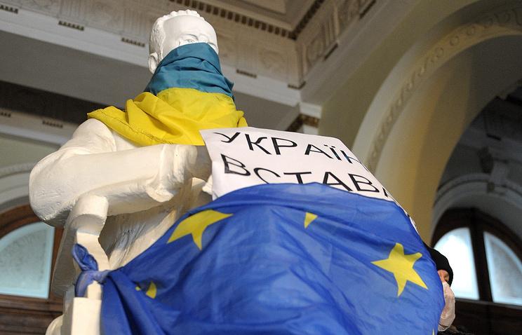 Anti-government protests in Lviv
