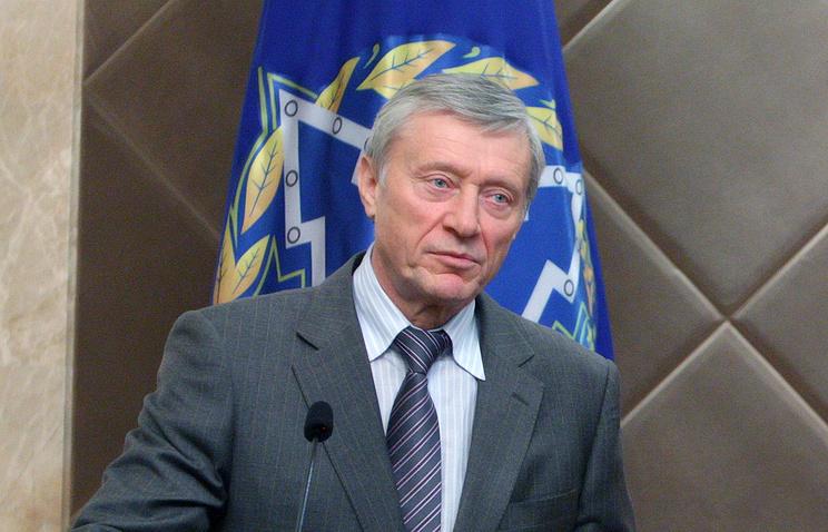 Secretary General of the Collective Security Treaty Organization (CSTO) Nikolai Bordyuzha