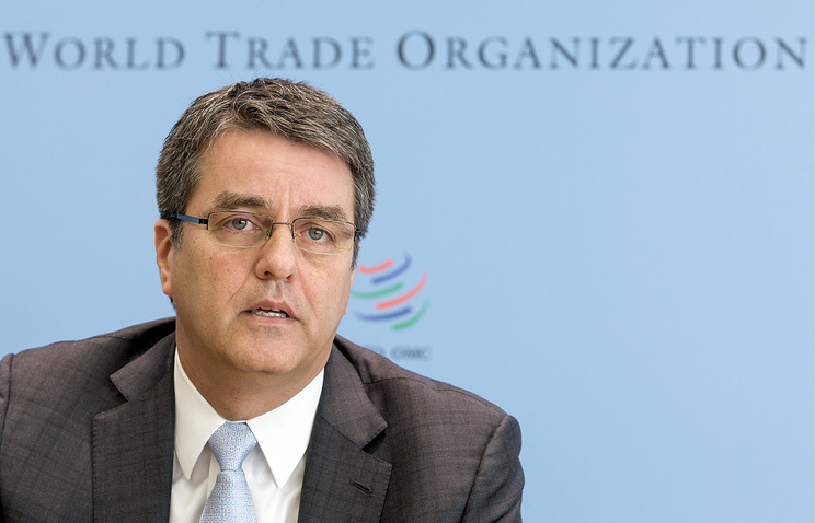 World Trade Organization, WTO, Director General Roberto Azevedo
