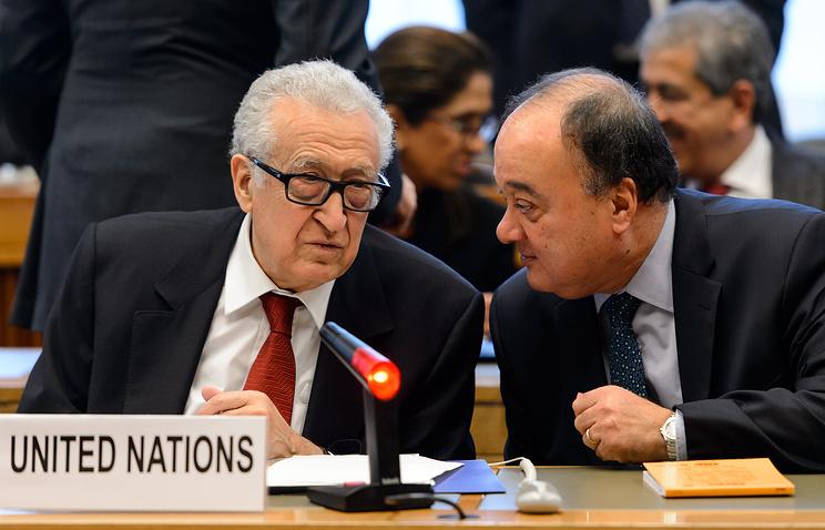 Lakhdar Brahimi and Nasser al-Kidwa