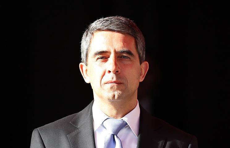 Bulgarian President Rosen Plevneliev