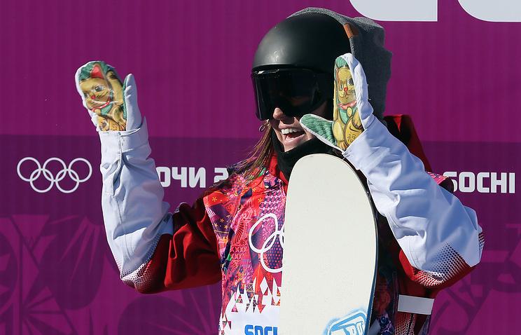 Canadian snowboarder Spencer O'Brien