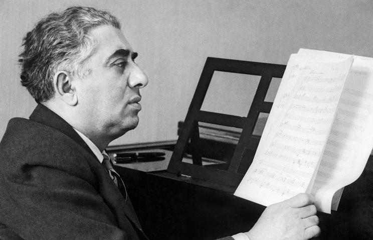Aram Khachaturian, 1959