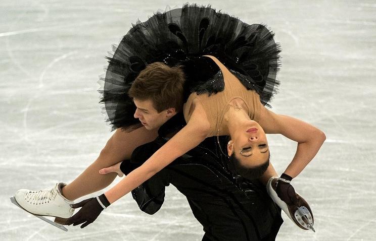 Yelena Ilyinykh and Nikita Katsalapov
