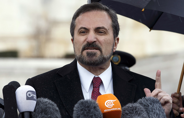 Spokesperson for the Syrian National Coalition Louay Safi