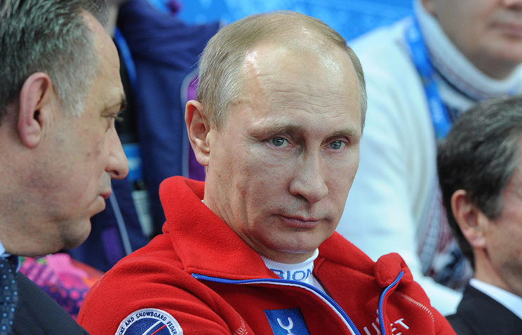 Putin in Sochi (archive)