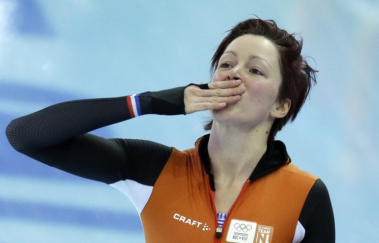 Dutch speed skater Jorien Ter Mors