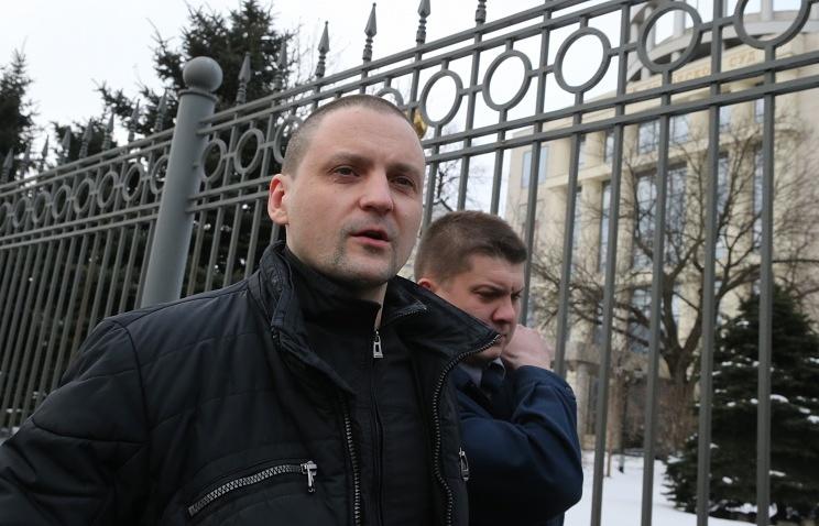 Left Front coordinator Sergei Udaltsov