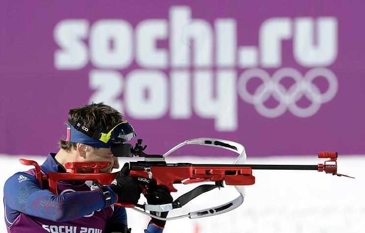 Norway's biathlete Ole Einar Bjorndalen