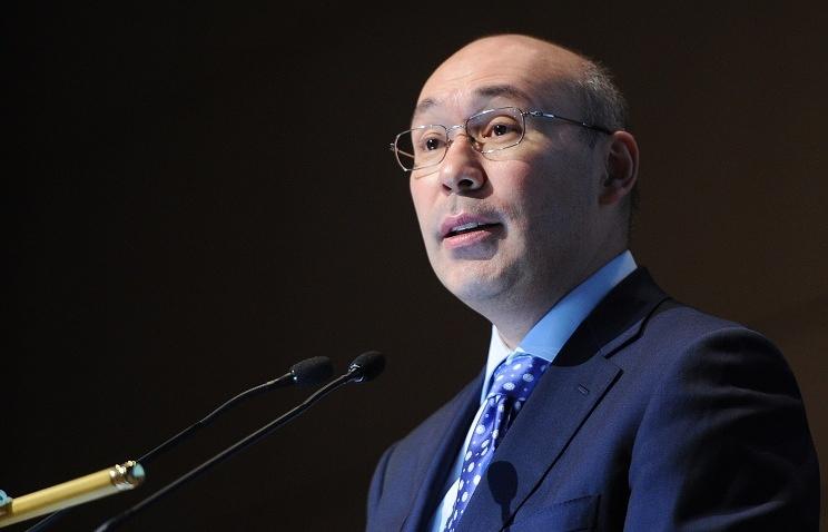 Chief of the National Bank of Kazakhstan Kayrat Kelimbetov