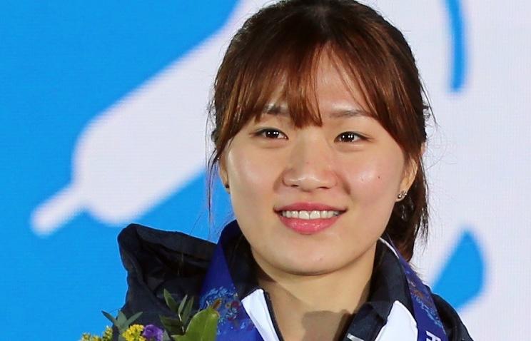 South Korea's speed skater Seung-Hi Park