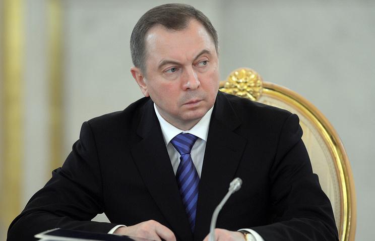 Belarusian Foreign Minister Uladzimir Makei