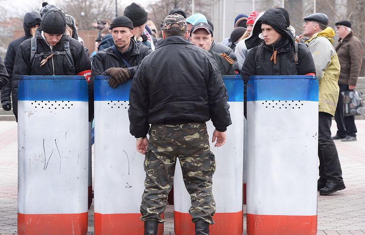 Crimean self-defense units (archive)