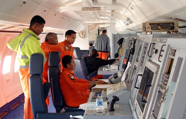 Search operation to find the missing Boeing 777-200 of Malaysian Airlines