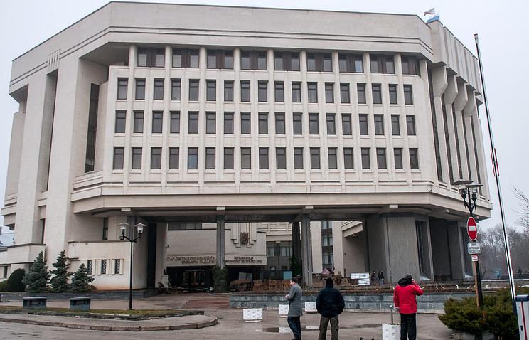 Crimea's Supreme Council building (archive)