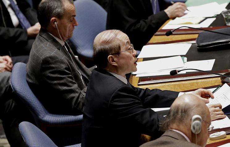 China's envoy Liu Jieyi