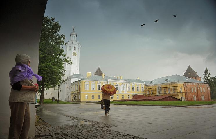 A view of Veliky Novgorod