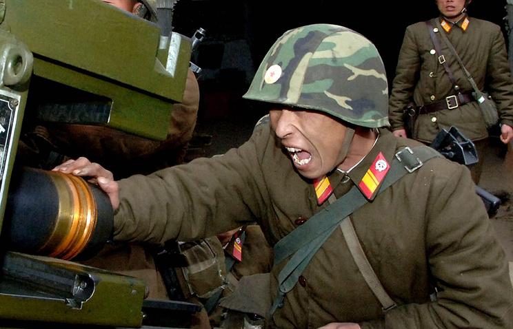 North Korea conducts military drill amid inter-Korean tension