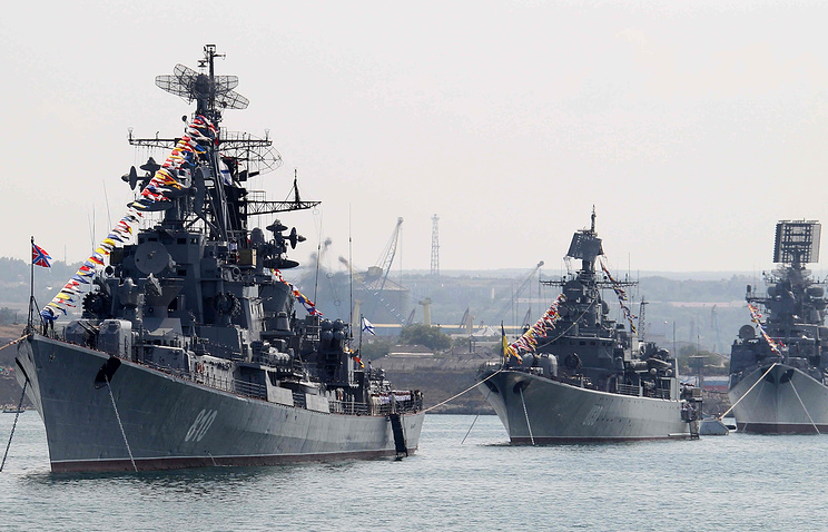 Navy Day celebrations in Sevastopol (archive)