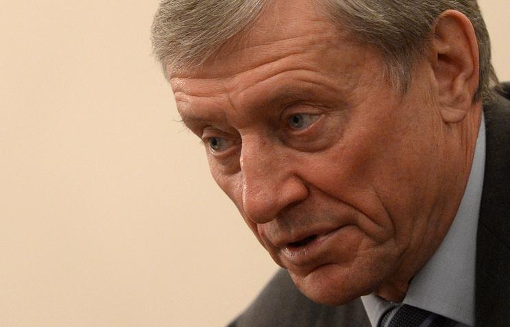 CSTO Secretary General Nikolai Bordyuzha