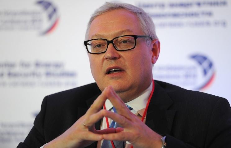 Deputy Foreign Minister Sergei Ryabkov