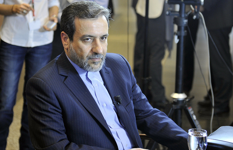 Iran's Deputy Minister of Foreign Affairs Abbas Araghchi