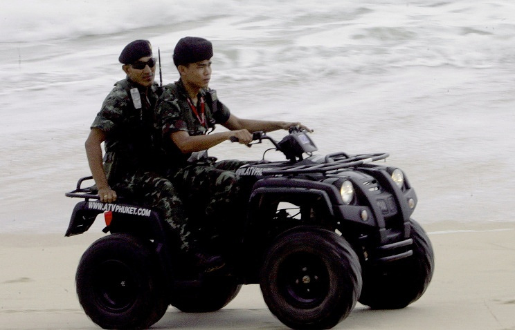 Police officers at Phuket (archive)