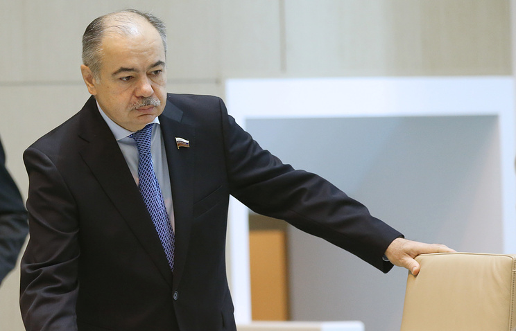 Deputy Speaker of the Federation Council Ilyas Umakhanov
