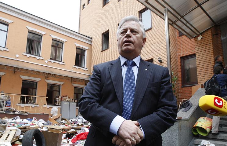 Presidential candidate Petro Symonenko