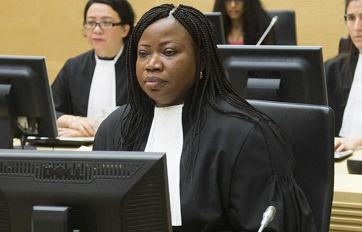 Chief Prosecutor Fatou Bensouda (archive)